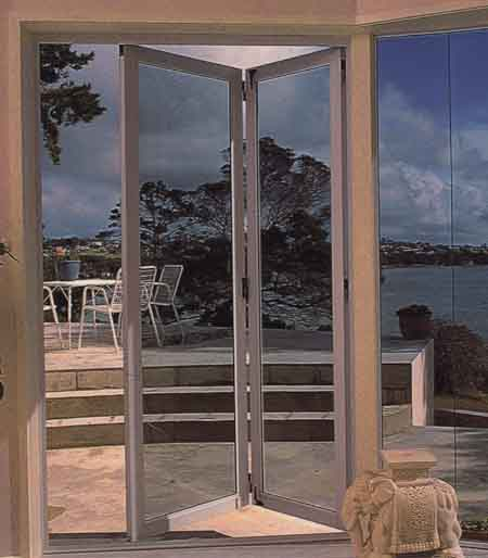 Frameless toughened glass assembly. Door Systems & Door Systems.