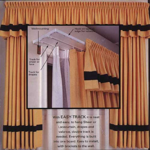 Easy-Track Curtain Tracks