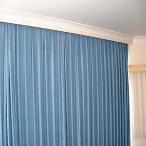 how to fix curtain track